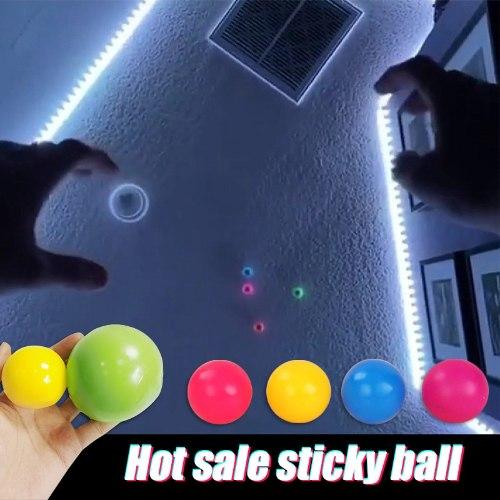 הכדורים הנדבקים (3 כדורים)