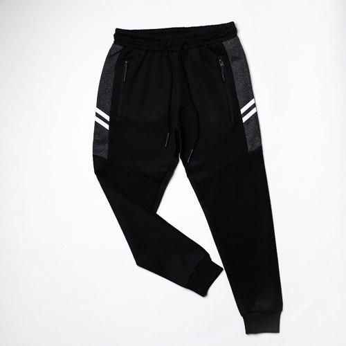 מכנס קופר רוכסנים שחור משולב מרנגו בנים