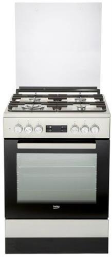 תנור משולב כיריים Beko FSM61330DXDSL בקו