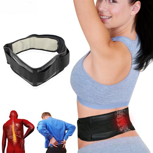 חגורה מגנטית לתמיכה בגב ולהפחתת כאבים