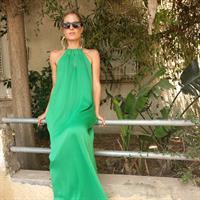 שמלת זוהרה ירוקה