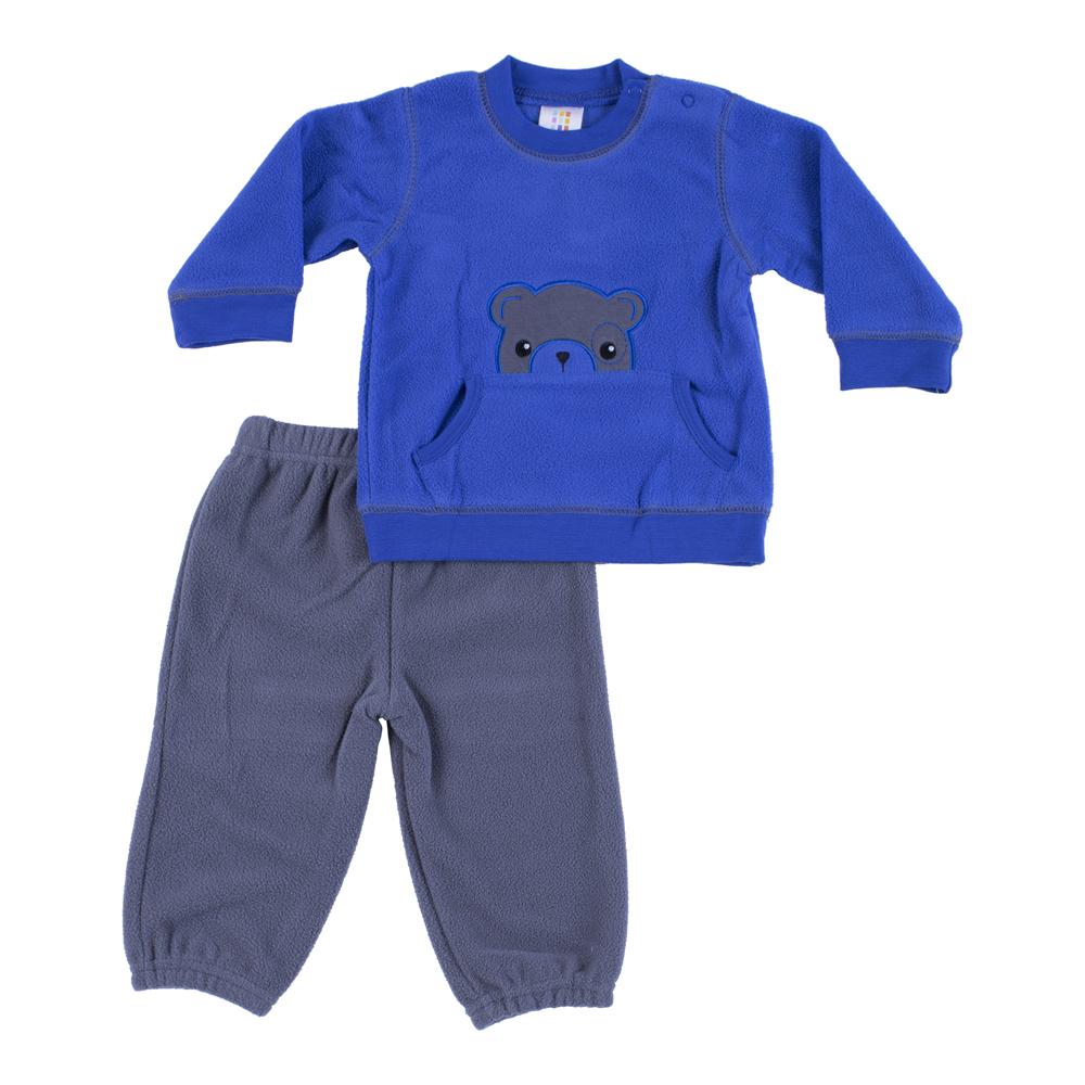 חליפת פליז כחול רויאל דובי