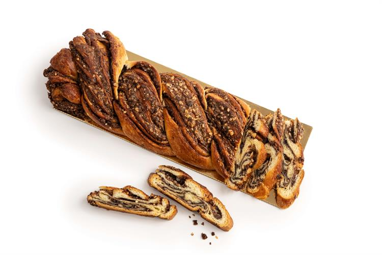 עוגת קרנץ' שוקולד אגוזים