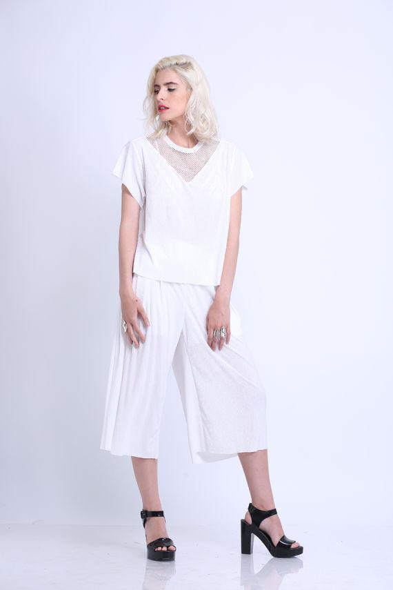 מכנס טיטי לבן