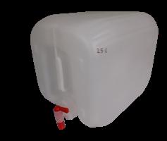 ג'ריקן מים עם ברז 18 ליטר