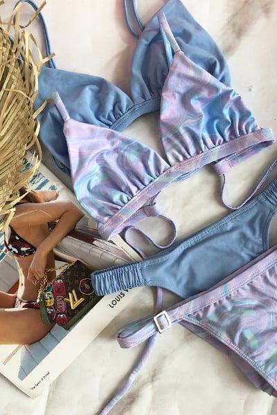 בגד ים לבחירתך - סט MARBEL או סט LIGHT BLUE
