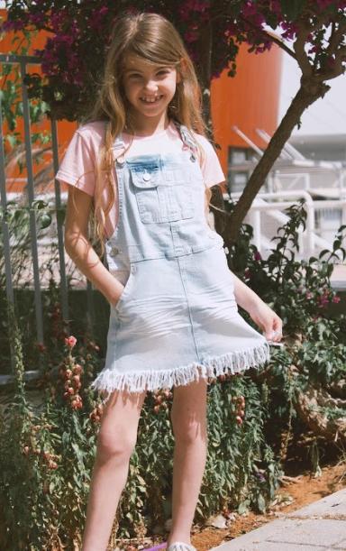 אוברול ג׳ינס חצאית