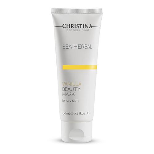מסכת יופי מזינה לעור יבש - Christina Sea Herbal Beauty Mask Vanilla