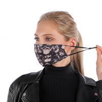 מסכה מעוצבת לפנים עם סינון פחם להגנה מקסימלית