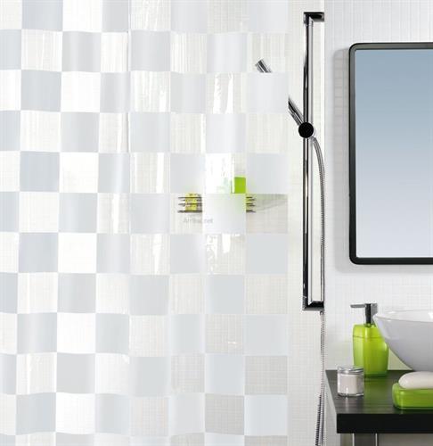 וילון אמבט PVC 180/200