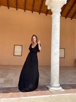 שמלת סאב שחורה