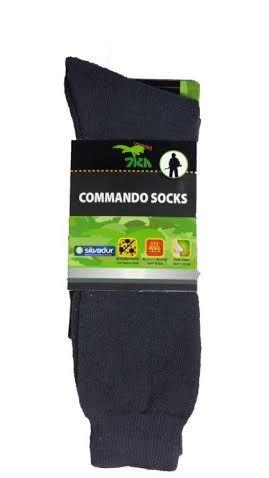 6 זוגות גרביים קומנדו - חגור