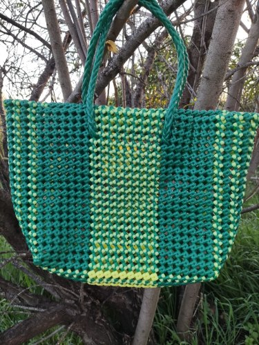 סל בינוני ירוק