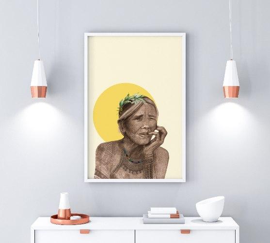 הדפס ציור- ווהאנג אוד