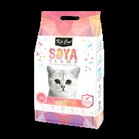 חול חתולים סויה בניחוח קונפטי 7 ליטר