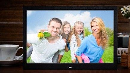 מסגרת דיגיטלית לתמונות וסרטים 12 HD