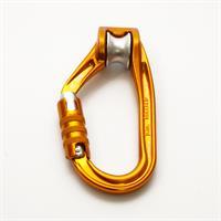 טבעת עם גלגלת טריפל לוק Petzl