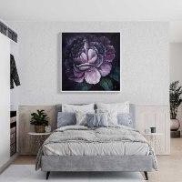 תמונות לסלון פרח סגול