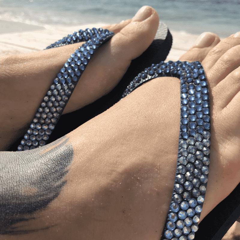 הוויאנס סברובסקי - כחול