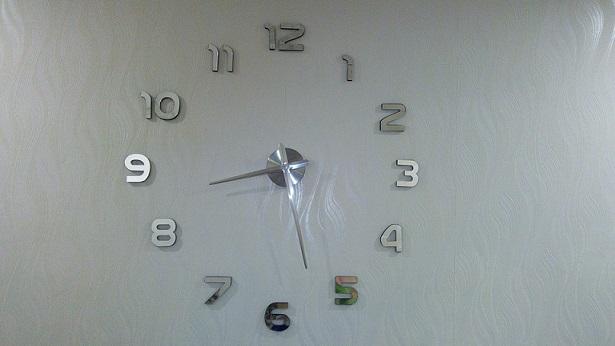 שעון מראה מספרים