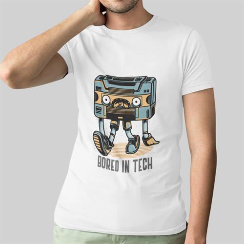 חולצת טי - Bored In Tech