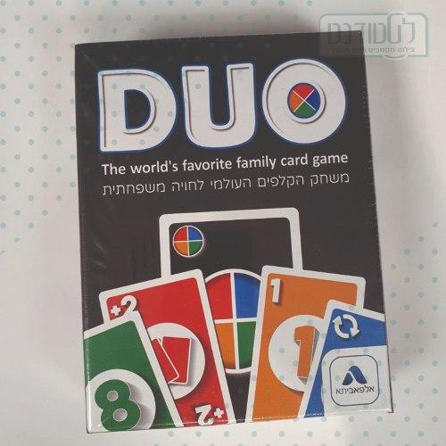 משחק קלפים DUO