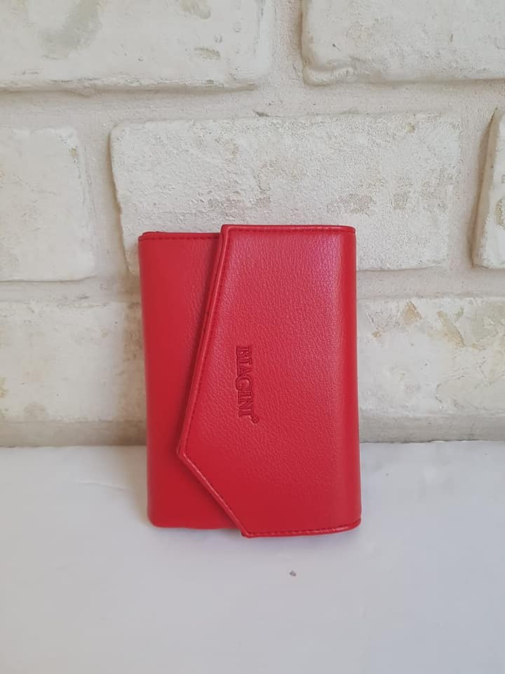 ארנק דמוי עור אדום 4003