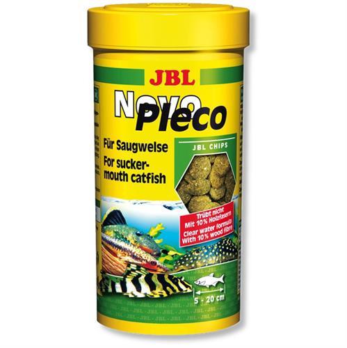 """מזון טבליות לדגים נקאים 250 מ""""ל (JBL)"""