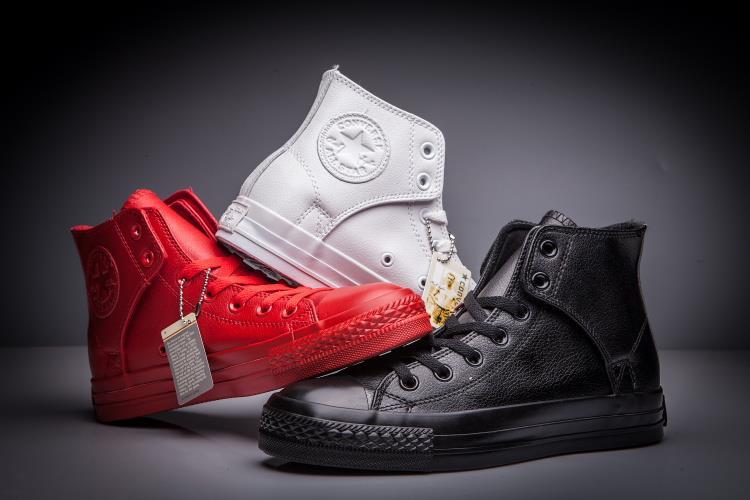 נעלי converse עור מהדורה מוגבלת יוניסקס מידות 36-44