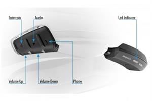 מערכת תקשורת לקסדה Cardo Scala Rider SmartH