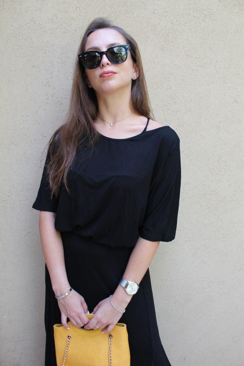 חולצת הדס שחורה