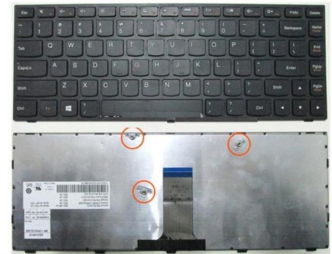 מקלדת למחשב נייד לנובו Lenovo G40-70 B40-70 B40-30 G4070 B4070 B4030 (US) Keyboard 25214540