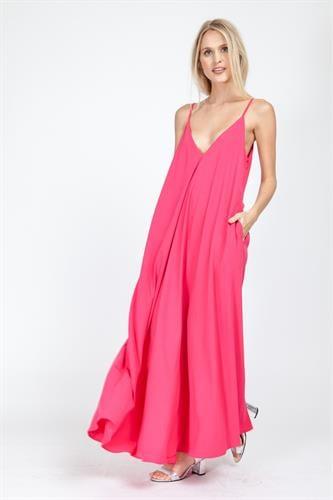 שמלת פיית' פוקסיה