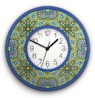 שעון קיר מעוצב, זכוכית אקרילית, דגם 2033  TIVA DESIGN