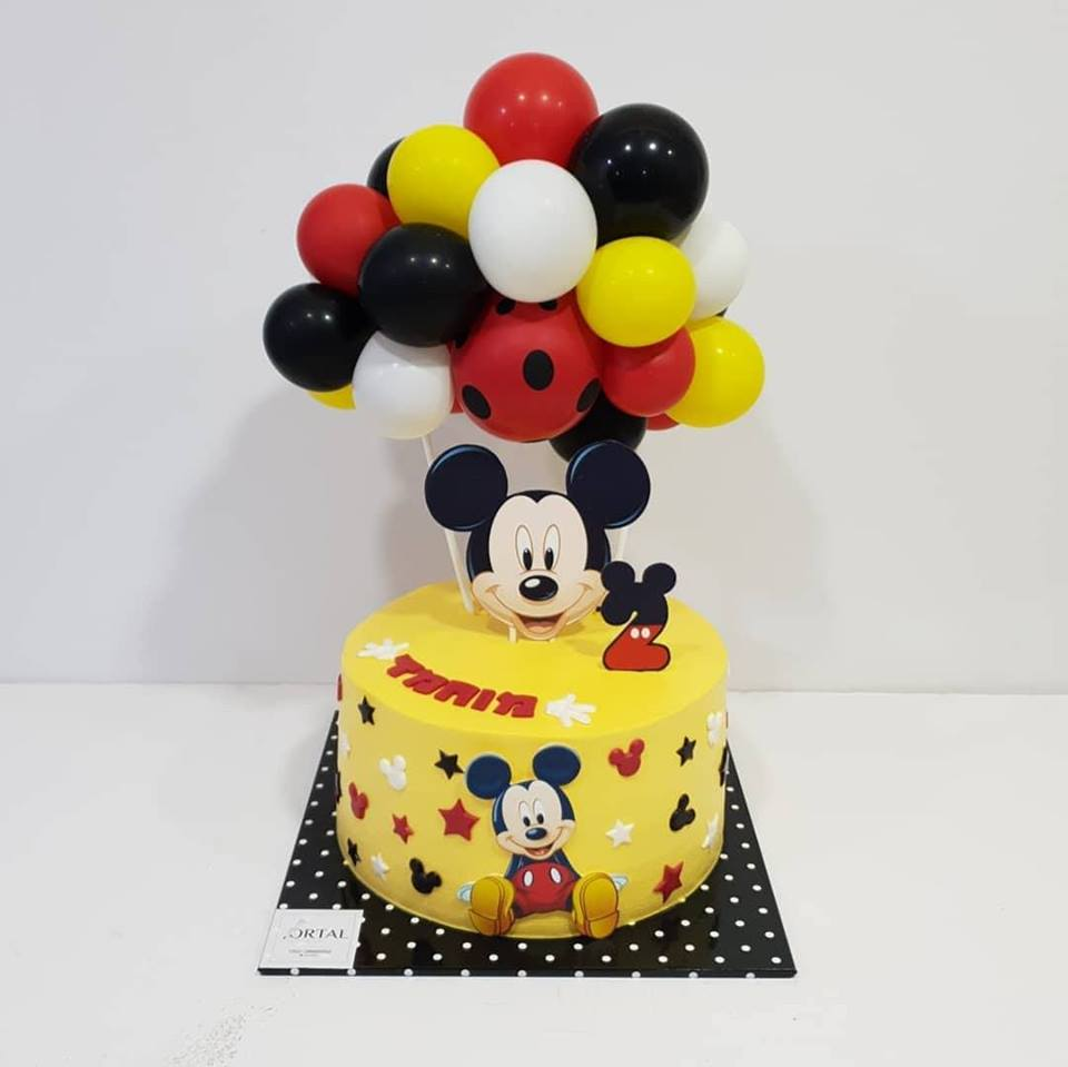 Mickey and Mini Mouse mold