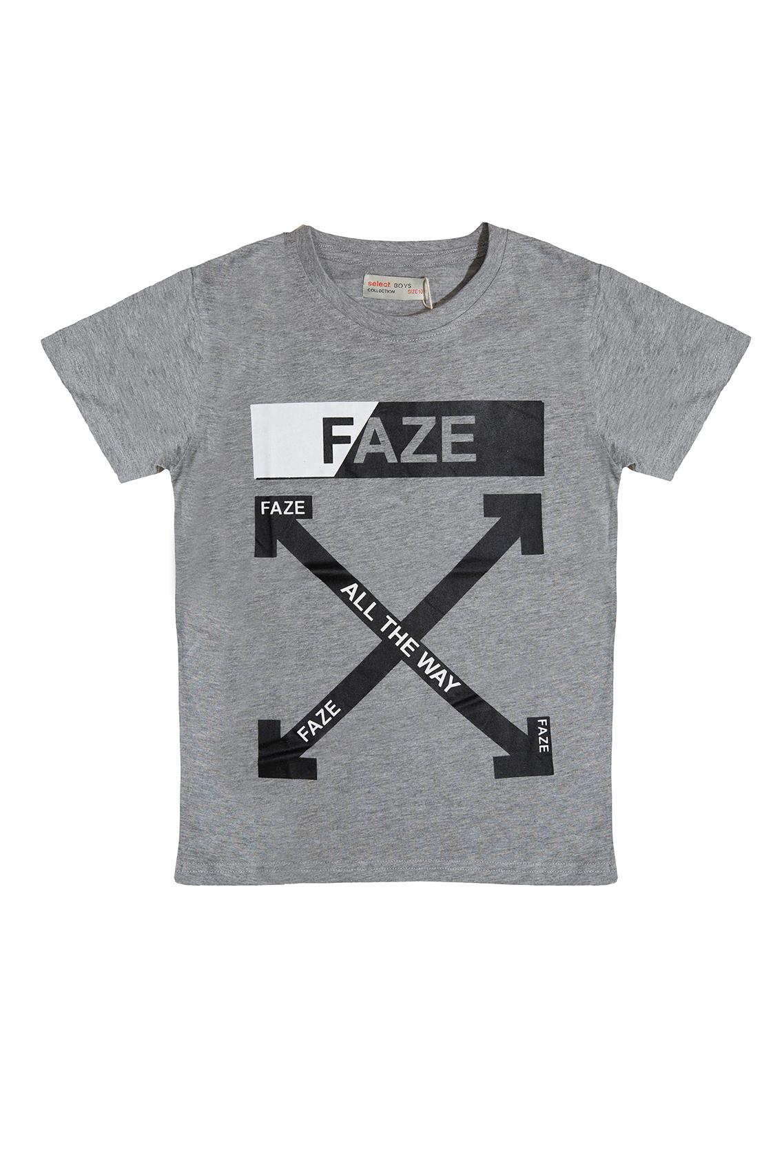 חולצת FAZE אפורה בנים