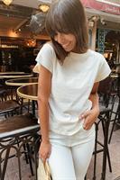 חולצת בייסיק קלייר שרוול רחב