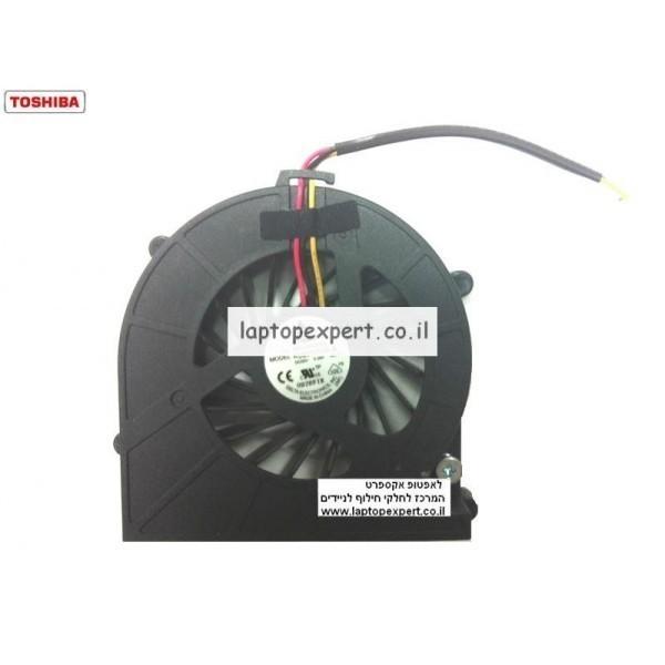 מאוורר למחשב נייד טושיבה Toshiba L600 L635 L645 KSB0505HA-A DC5V 0.38A