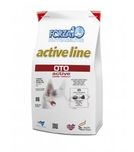 """מזון רפואי לכלבים פורזה אקטיב OTO מ 4 ק""""ג"""