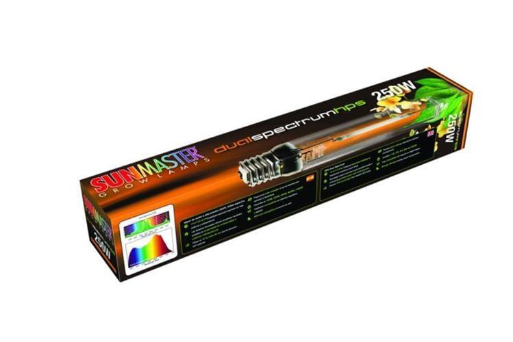 נורה משולבת לזמן הצמיחה והפריחה SunMaster 250W Dual Spectrum Deluxe