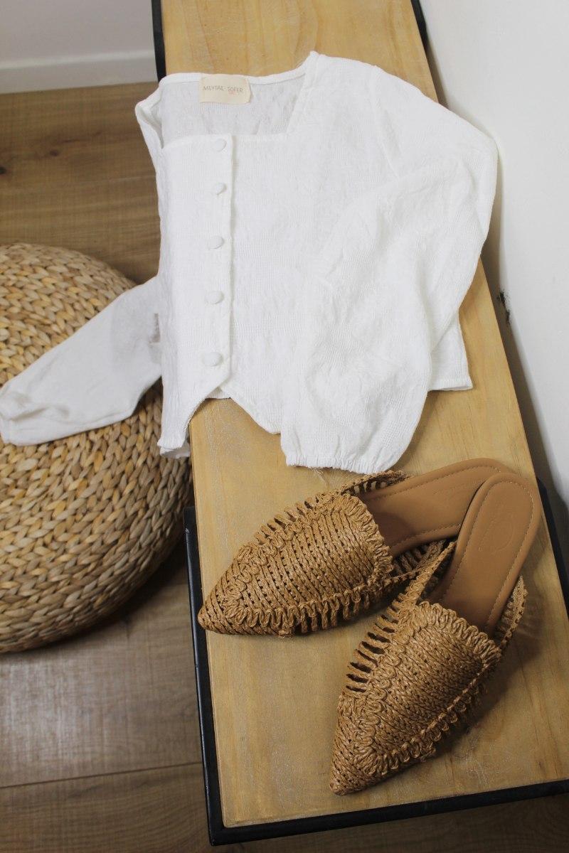 חולצת אמה לבן