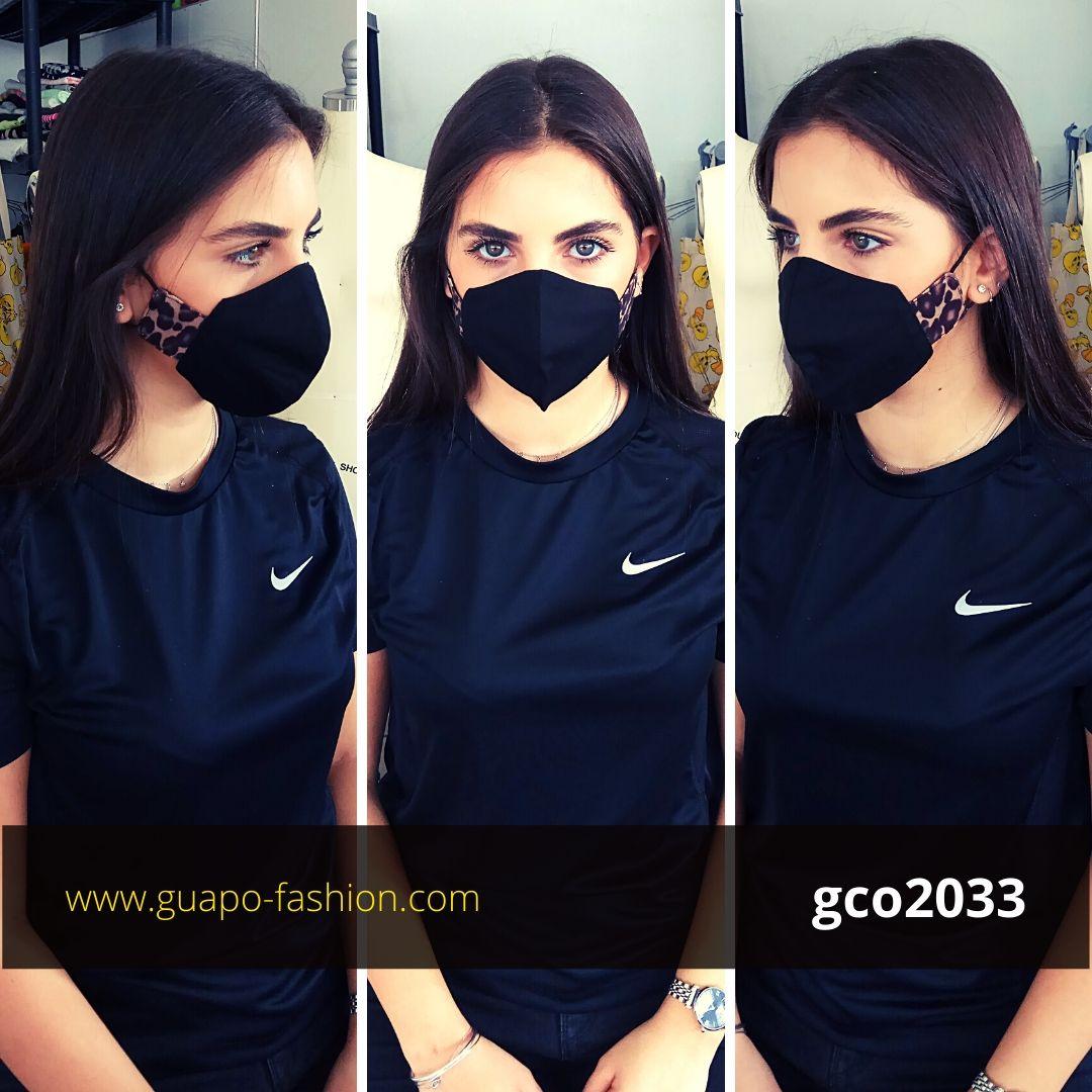 מסכת בד מעוצבת מסכה מנומרת גואפו cloth mask