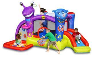 מתקן קפיצה חברים על המאדים הפי הופ - 9273 -   The Friends On Mars Bouncer Happy Hop