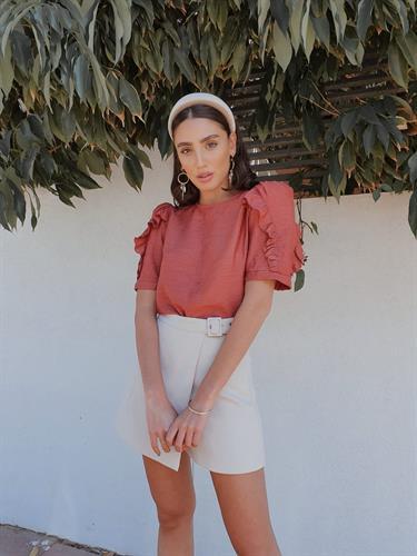 חולצת מרלן - בריק