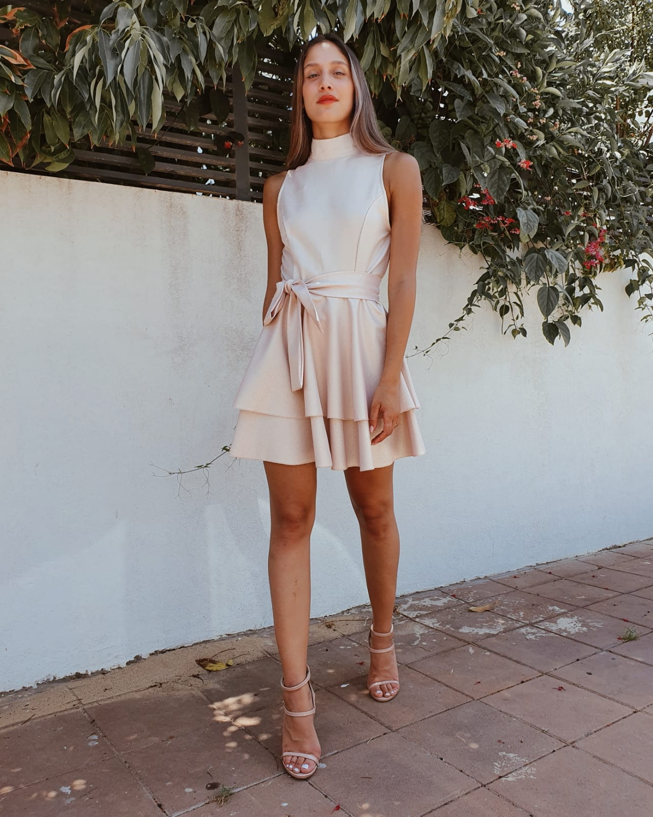 שמלת מיה קלוש לורקס- ורודה