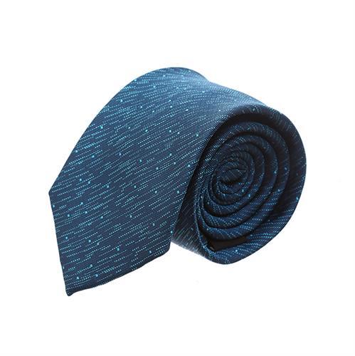 """עניבה """"מטאור"""" כחול טורקיז"""