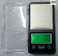 משקל כיס דיגיטלי 0.1 עד 500 גרם