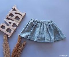 חליפת חצאית (מחובר תחתון)דגם 9661