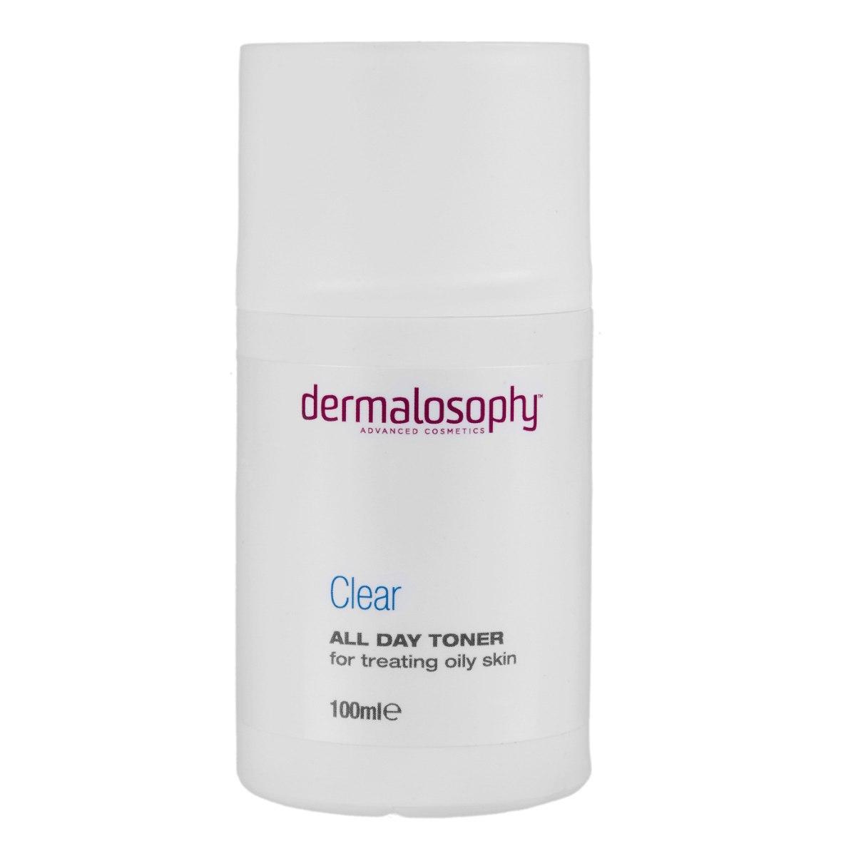 דרמלוספי- טונר לטיפול בעור שומני