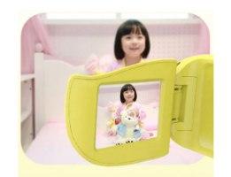 מצלמת וידאו מקצועית לילדים